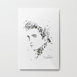 King of Rock and Roll Metal Print
