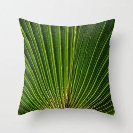 life green Throw Pillow