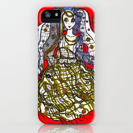 Ghost Bride iPhone Case