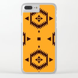 Indian Designs 204 Clear iPhone Case