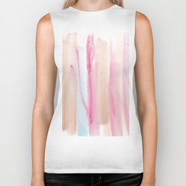 7 | 181203 Watercolour Patterns Abstract Art Biker Tank