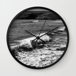 Cornwall Sea 01 Wall Clock