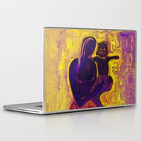madonna Laptop & iPad Skins featuring madonna rucellai by Karla Zercicov