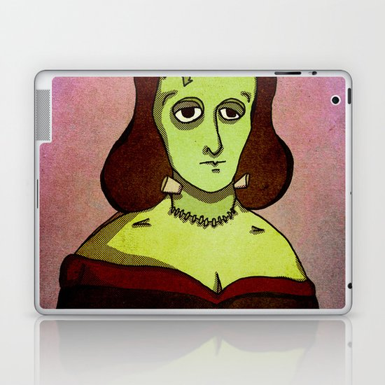 Prophets of Fiction - Mary Shelley /Frankenstein Laptop & iPad Skin