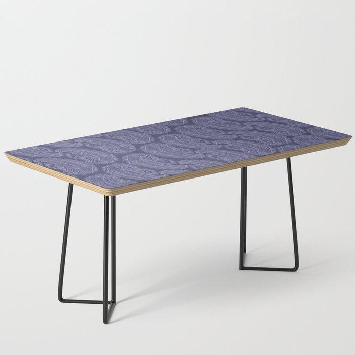 Purple Paisley Coffee Table
