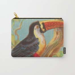 Toco Toucan Birds of the Tropics Series by A&G Carry-All Pouch