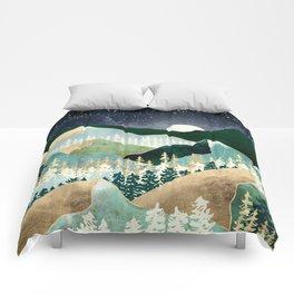 Spring Night Vista Comforters