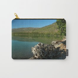 Driftwood On Lakeshore Carry-All Pouch