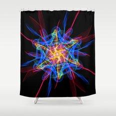 Silkweave / Neon Sigil 2 Shower Curtain