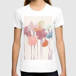 Watercolour Flowers T-shirt