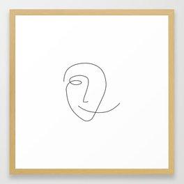 Different Smile Framed Art Print
