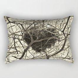 Heart-Shaped Nest Rectangular Pillow