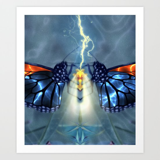 Nature, the ultimate power source Art Print