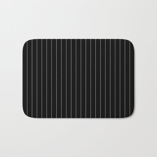 Black And White Pinstripes Lines Stripes Minimalist Stripe Line by beautifulhomes