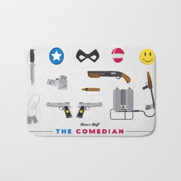 Hero's Stuff - The Comedian Bath Mat
