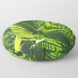 It's All About Greenery Floor Pillow