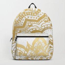 GOLD ORION JEWEL MANDALA Backpack
