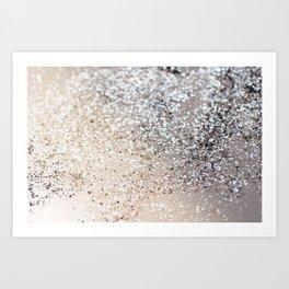 Sparkling GOLD Lady Glitter #6 #decor #art #society6 Art Print