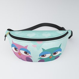 Love owls Fanny Pack