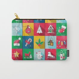 Christmas Calender by Nico Bielow Carry-All Pouch