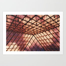 Glass Pyramid // Louvre Art Print