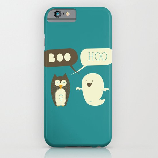 Boo Hoo iPhone & iPod Case