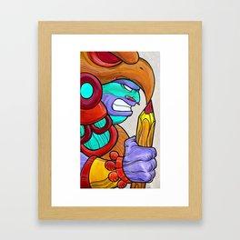 Eagle Warrior Framed Art Print