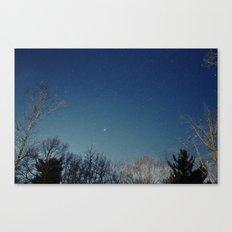 night/stars Canvas Print