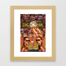 Calfornia Dreams Framed Art Print
