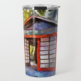 Tea House in the Forest Travel Mug