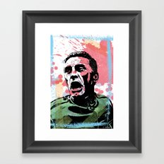 Kirk Douglas - Path of Glory Framed Art Print