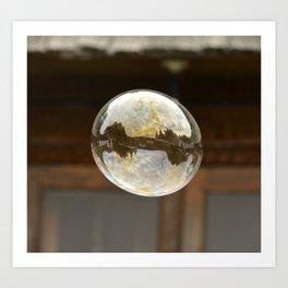 bubble wishes Art Print