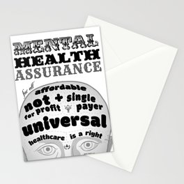 Mental Health Assurance Stationery Cards