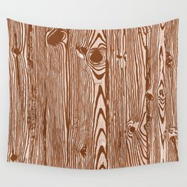 c13D Woodgrain Wall Tapestry
