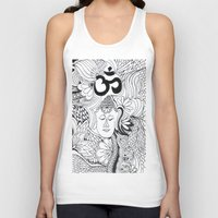 meditation Tank Tops featuring Meditation by Kassidy Kawa