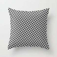 Houndstooth (Pepita) Throw Pillow