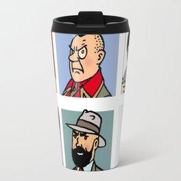 tintin and friend Travel Mug