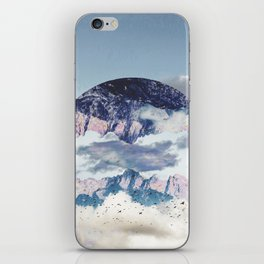 Abstract Mountains iPhone Skin
