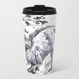T-Rex Metal Travel Mug