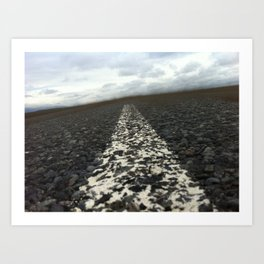 dirt roads Art Print