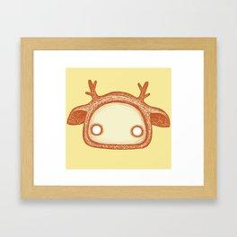 Funny spirit Framed Art Print