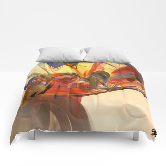 Beautiful Chaos Comforters