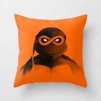 Michelangelo Forever Throw Pillow
