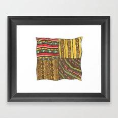 Pattern #2 Framed Art Print