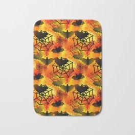 Halloween Abstract Bath Mat