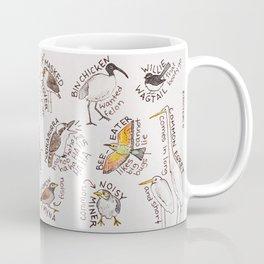 Bird no. 153: A Few Birds of Australia Coffee Mug