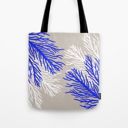 Coral Pattern Tote Bag