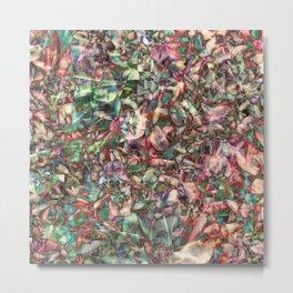 Polychromatic Succulent Metal Print