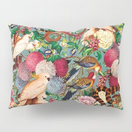 Floral and Animals pattern Pillow Sham