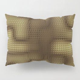 Rattlesnakes Love Geometry Pillow Sham